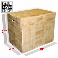 Xtreme Monkey 3-In-1 Wood Plyo Box $169.99