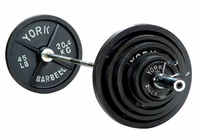 York 2 inch International Olympic Weight Set $559.99