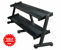 York 2 Tier Shelf Dumbbell Rack $769.99