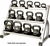 York 3 Tier Kettle Bell Rack