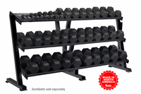 York 3 Tier Shelf Dumbbell Rack $1,049.00