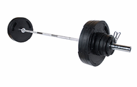 York 300lb G2 Rubber Coated Olympic Weight Set $749.99