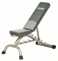 York 45071 Flat Incline Adjustable Bench $179.99