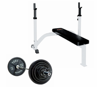 York Basic Olympic Bench Press Package