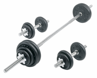 York Cast Iron Dumbbell/Barbell Set - 110lbs Total Weight $289.99