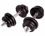 York Cast Iron Dumbbell Sets