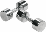 York Chrome Dumbbell Set