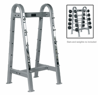 York ETS Fixed Straight & Curl Barbell Rack $599.00