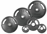 York G2 Rubber Coated Plate Set - 255lbs $499.99