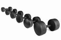 York Legacy Solid Round Dumbbells 105lb - 125lb Set