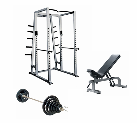 York Premium Power Rack Gym Package