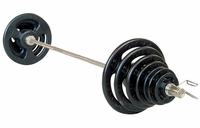 York Steel  ISO-Grip  Olympic Weight Set