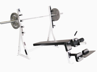 Yukon Commercial Decline Olympic Weight Bench