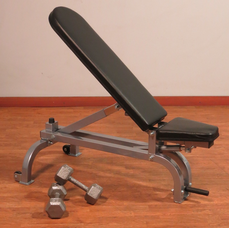 Yukon Fitness Commercial Flat Incline Bench
