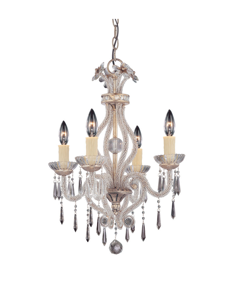 1 127 4 176 savoy house lighting boutique 4 light mini chandelier in 1 127 4 176 savoy house lighting boutique 4 light mini chandelier in silver lace finish arubaitofo Choice Image