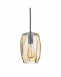 10451/1 Elk Geometrics 1 Light Mini Pendant In Oil Rubbed Bronze
