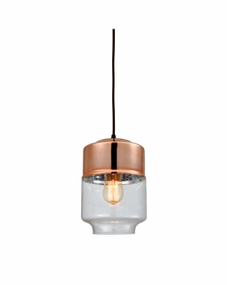 10491/1 Elk Revelo 1 Light Pendant In Oil Rubbed Bronze