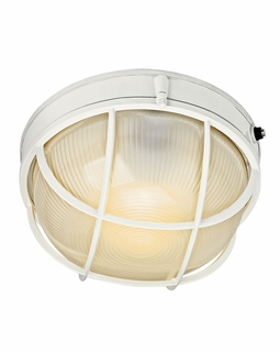 10622WH Builder Utilitarian Outdoor Wall 1Lt Fluorescent (white)