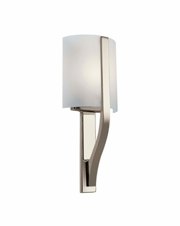 10686PN Kichler Contemporary Freeport Wall Sconce 1Lt Fluorescent (polished nickel)