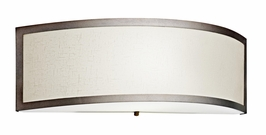 10690CP Kichler Champagne Wall Sconce 1Lt Ada Fluorescent Wall Light (DISCONTINUED ITEM!)