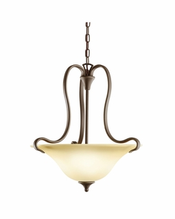 10742OZ Kichler Transitional Wedgeport Pendant 2Lt Fluorescent - Olde Bronze
