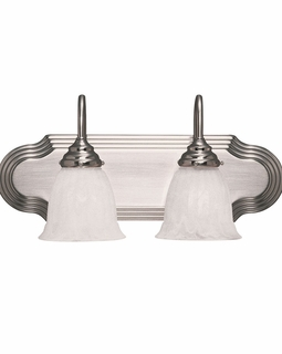 1079-2SN Savoy House Traditional Summergrove 2 Light Bath Bar with Satin Nickel Finish
