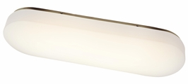 10851NI Kichler Builder Linear Ceiling 4Lt Fluorescent Flush Mount (DISCONTINUED ITEM!)