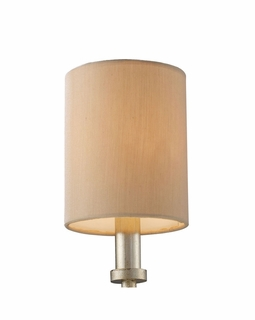1087 Transitional New York Mini Shade In Beige Fabric