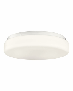10889WH Kichler Builder 1Lt Fluorescent Flush Mount