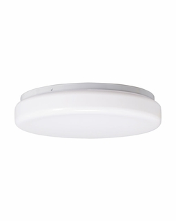 10890WH Builder Flush Mount 2Lt Fluorescent (white)