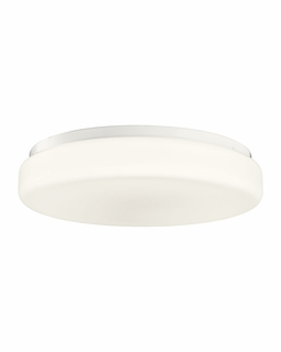 10891WH Builder Flush Mount 2Lt Fluorescent (white)