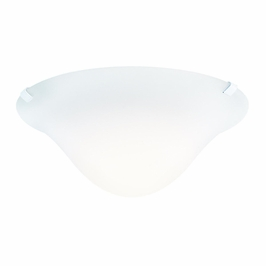 10893WH Kichler White Semi-flush 1Lt Fluorescent Ceiling Lights (DISCONTINUED ITEM!)