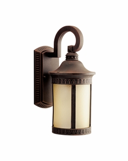 10903PR Kichler Builder Randolph Outdoor Wall 1Lt Fluorescent Small