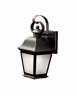 10907OZ Kichler Traditional Mount Vernon Outdoor Wall 1Lt Fluorescent - Olde Bronze