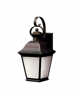 10908OZ Kichler Traditional Mount Vernon Outdoor Wall 1Lt Fluorescent (olde bronze)