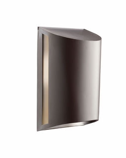 10922AZ Kichler Contemporary Outdoor Wall 1Lt Fluorescent - Architectural Bronze