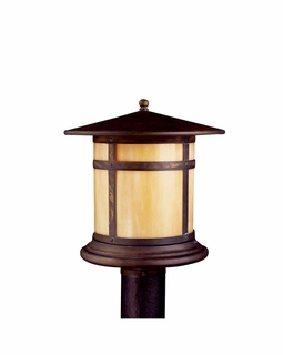 10944CV Kichler Canyon View Outdoor Post Mount 1Lt Fluorescent Tularosa Outdoor (DISCONTINUED ITEM!)