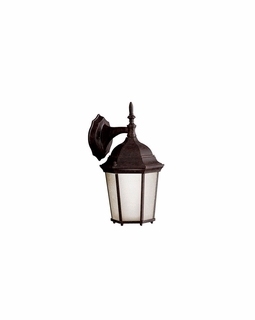 10950TZ Kichler Traditional Madison Outdoor Wall 1Lt Fluorescent - Tannery Bronze