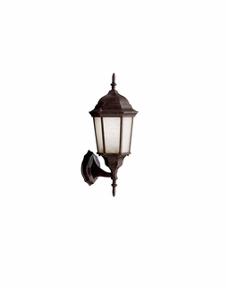 10953TZ Kichler Traditional Madison Outdoor Wall 1Lt Fluorescent - Tannery Bronze