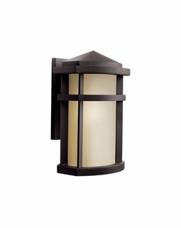 11068AZ Kichler Contemporary Lantana Outdoor Wall 1Lt Fluorescent (architectural bronze)