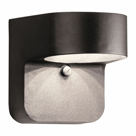 11077AZT Kichler Utilitarian Outdoor Wall 1Lt LED - Textured Architectural Bronze