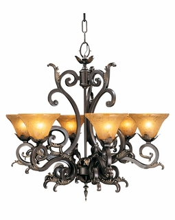 1125 Framburg Lighting Palazzo Six-Light Chandelier