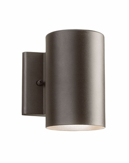 11250AZT30 Kichler Contemporary Outdoor Wall 1Lt LED Textured Architectural Bronze