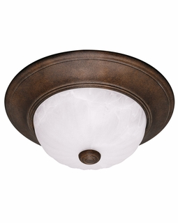 11264-BN Savoy House Mission Flush Mount with Brownstone Finish