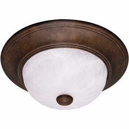11264-BN Savoy House Mission Flush Mount in Brownstone