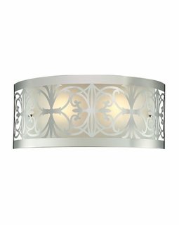 11431/2 Elk Willow Bend 2 Light Vanity In Polished Chrome
