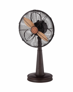"12-SF-13 Savoy House Transitional 12"" Table Top Sleep Fan with English Bronze Finish"