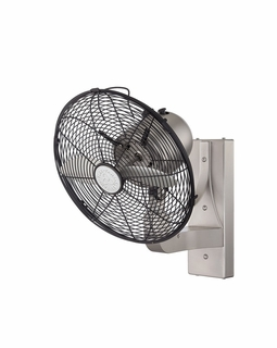 12-WF-SN Savoy House Transitional Skyy Wall Fan with Satin Nickel Finish