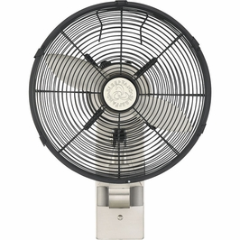 12-WF-SN Savoy House Transitional Skyy Wall Fan in Satin Nickel