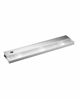 12213SS Kichler KCL Low V Modular 3Lt Xenon 120v/20w Cabinet Strip/Bar Light